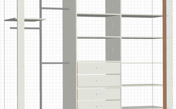 Projekt szafy do sypialni